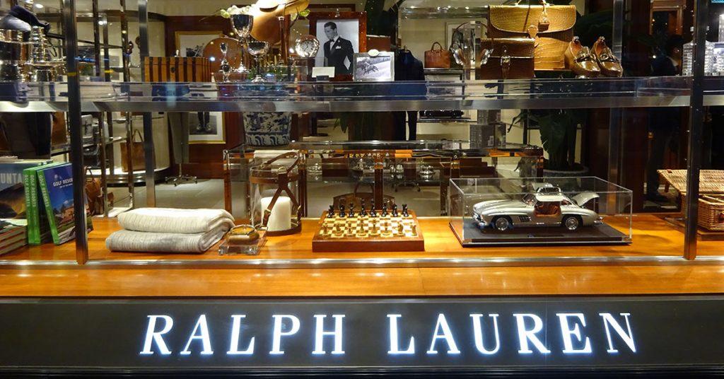 Ralph Lauren storefront
