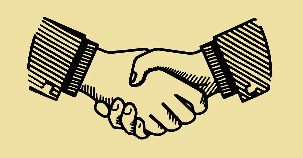 co-op handshake